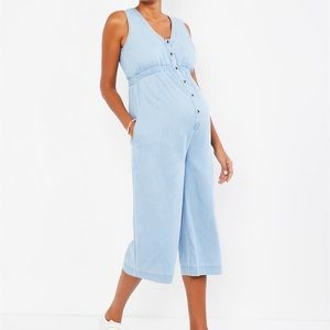 Motherhood Maternity Jumpsuit, Chambray